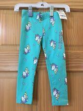 NWT Oshkosh Unicorn Leggings Girls Toddler Turquoise