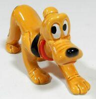 Vintage Pluto Porcelain Figurine Disney Japan
