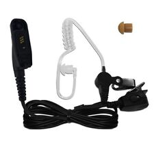 PTT Lock operation Ear Piece for Motorola XPR6300, XPR6350, XPR6500, XPR6550