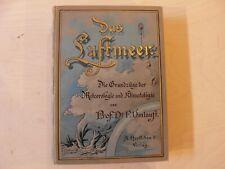 Das Luftmeer Friedrich Umlauft Meteorologie Fachbuch Wetter 1891 Hartleben