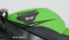 R&G RACING PAIR  CARBON FIBRE TANK SLIDERS Kawasaki ZX10-R (2009-2010)