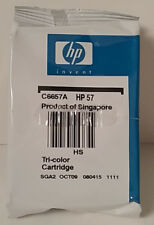 HP 57 Factory Sealed Tri Color Ink Cartridge New