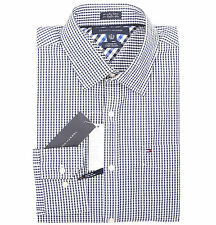 Tommy Hilfiger Men's Long Sleeve Button-Down Plaid Dress Shirt - $0 Free Ship
