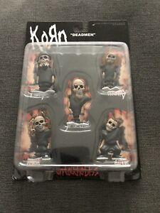 Korn Untouchables Deadmen 5-Figure Pack Stronghold