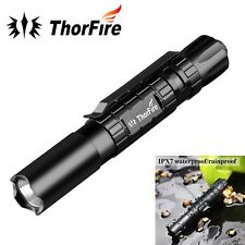 ThorFire PF01S - LED Pen Light AAA Flashlight with Memory 0.5-120LM EDC Tactical