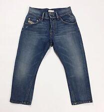 Diesel roquest shorts jeans pantalone corto capri berduma w25 tg 38 39 blu T1804