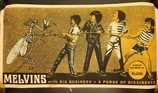 Melvins Signed Poster Print Big Business Dale Buzzo Jared Numbered 54/100