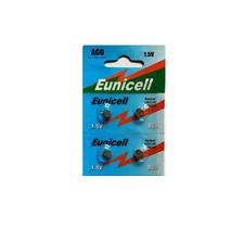 4 x Eunicell AG0 LR521 379 SR521 Alkaline Button Coin Cell Watch Batteries