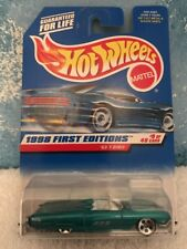 Hot Wheels 1998 First Editions #9 '63 T-Bird #644 New On Card