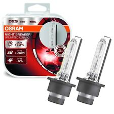 OSRAM 2-ER SET D2S XENARC NIGHT BREAKER UNLIMITED XENON BRENNER LEUCHTMITTEL