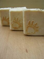NATURAL SOAP FOR VERY OILY SKIN HIGHLY CLEANSING VETYVER SANDALWOOD FREE SHIP