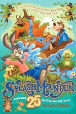 Disneyland 25th Anniversary Splash Mountain Poster Print 12�x18� plus free bonus