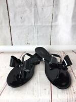 ROMA, BEACH JELLY SANDALS,  FLIP FLOP WOMEN FLATS BOW KNOT  BY ANN MORE