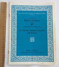 Original Dress Sewing Patterns 1940/50's Fashion HASLAM Book of Draftings No 41