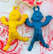 2 Imperial Toy Poopatrooper Paratrooper Toys w/Extra Parachute 1975 Hong Kong