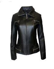 PRODI Women's Scuba Leather Jacket