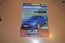 Le Moniteur N°1418 Jaguar XF.Subaru Impreza STi.Mazda 6 MZR-CD.Volvo V70 2.0 D
