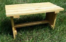 Wood Cedar Plant Stand/ Stool Outdoor
