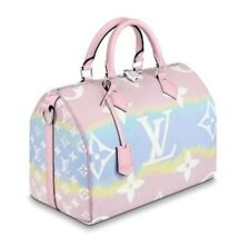 Louis Vuitton Escale Speedy 30 Bag Hand Shoulder Pastel M45123 LV W Invoice