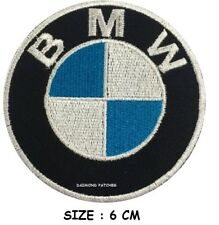 BMW iron on patch car logo sports motor racer badges  6 CM