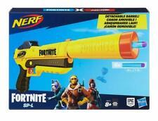 NERF E6717EU4 Fortnite SP-L Blaster Detachable Barrel Toy Gun - 6 Darts