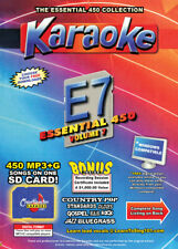 Karaoke Chartbuster Essential 450 Songs SD-Card Vol-7 Country,Standars,R&B,Rock