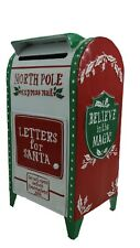 North Pole Express Christmas Post Box Mail Letters For Santa Xmas White Xmas UK