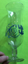 Norwegian Cruise Ship Anchor Logo 8 Inch Tall Glass Excellent!