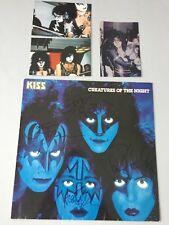 Kiss completamente firmado en-persona signed disco/vinilo + propios-fotos rareza