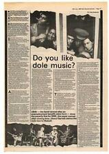 UB40 Interview NME Cutting 1980 #1 ABC