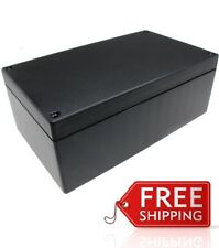 New Abs Plastic Project Box Enclosure 727lx 45w X 26h Inch In Black