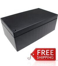 New ABS Plastic Project Box Enclosure 7.27(L)x 4.5(W) x 2.6(H) inch in Black