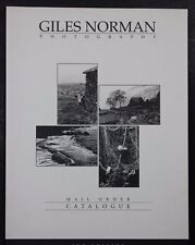 Photographer Giles Norman Mail Order Catalogue 2nd Edition 114 B&W Prints Book