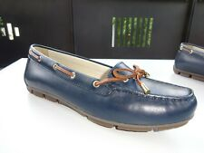 GEOX RESPIRA Damen Schuhe Ballerinas Leder Blau Gr.37 Neuw