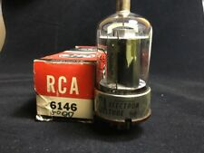 NOS RCA 6146 Ham Radio Amplifier VACUUM TUBE Black Plate TESTED STRONG #1.6106