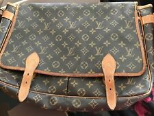 Louis Vuitton bolsa bolso gibeciere gm Monogram Messenger back cross over