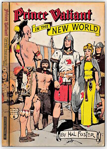 PRINCE VALIANT in the new world HARDCOVER hal foster COMIC 1976 nostalgia 127015