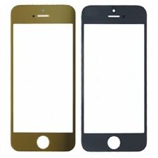 Front glass vetro touch lcd display vetrino frontale per iPhone 5 5C 5S gold