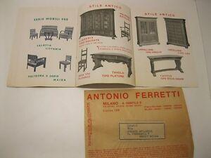 Anonimo, Mobili per ufficio Antonio Ferretti