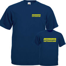 Feuerwehr T-Shirt mit Ortsnamen bis 5XL Sicherheit