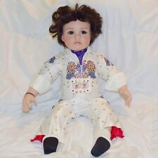 Porcelain Elvis Presley Baby Doll Marie Osmond Rare Collectors Limited Edition