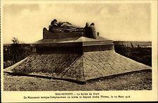 Douaumont Frankreich AK ~1920/30 Le Soldat du Droit Monument Denkmal ungelaufen