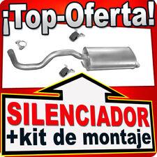 Silenciador Trasero SEAT IBIZA 1.9 SDi TDi 1.4 1.6 1.8 2.0 1995-2002 Escape KKB