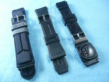NEW Watch Band 1 Fabric Band (20mm) And 2 Plastic Bands (18mm and 22mm)