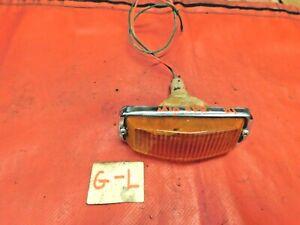 MG Midget, Sprite, Lucas Front Parking Light & turn Signal Assembly, #1, Origina