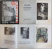 Schneider (Hrsg) - Festschrift zur 125-Jahr-Feier 1931- Mädchenschule Dresden xz