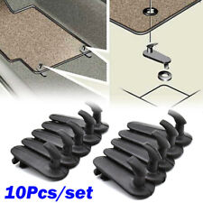 10Pcs Car Floor Mat Fixing Clips Clamps Holders Grips Retainer Hooks For Toyota
