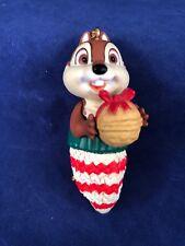Grolier Disney Chip Christmas Magic Character Ornament Dale Chipmunks Mitten NB