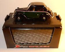 BRUMM FIAT 1100 508C TAXI de MILAN 1937 BERLINE VERT FONCE REF R062 1/43 IN BOX