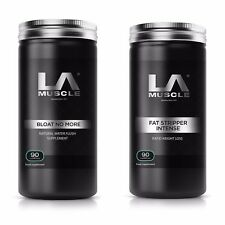 LA Muscle Super Advanced Fat Burning Stack. Lose Fat and Banish Water Weight